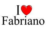 I Love (Heart) Fabriano, Italy