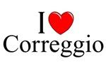 I Love (Heart) Correggio, Italy