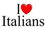 I Love (Heart) Italians