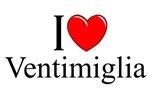 I Love (Heart) Ventimiglia, Italy