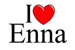 I Love (Heart) Enna, Italy