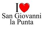 I Love (Heart) San Giovanni la Punta, Italy