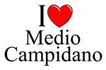 I Love (Heart) Medio Campidano, Italy