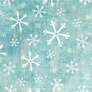 Grungy Snowflakes