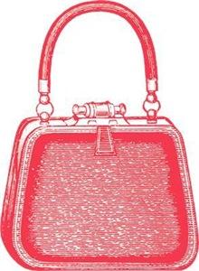 Vintage Purse Pink