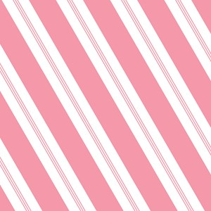 Pink Candy Stripe Large