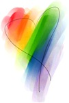 Rainbow Heart T-shirts & Gifts