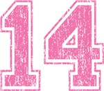 Pink Retro 13 T-shirts