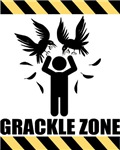 Grackle Zone Warning T-shirts