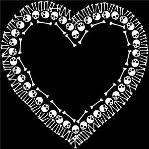 Pretty Skull Heart