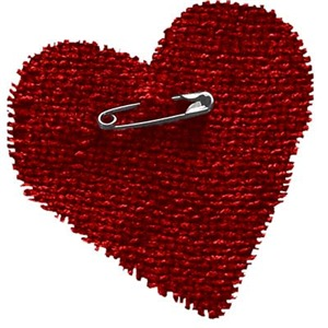 Pinned On Heart