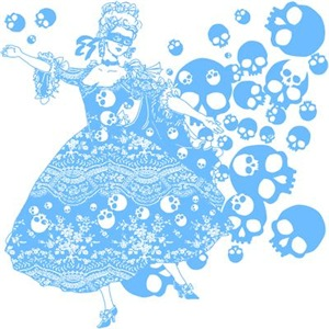 Blue Skull Dancer