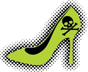 Poison Green High Heel Shoe