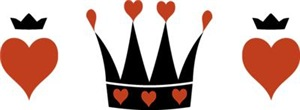 Hearts And Crowns Motif