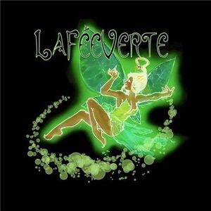 Dark Green Fairy Flying