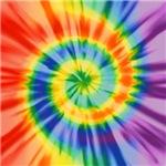 Printed Tie Dye Pattern