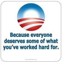 Obama Because Blue