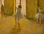 Famous Paintings: Degas' Ballet Lesson