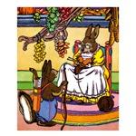 Easter Bunny Knitting