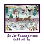 Quilted Christmas - Quilting