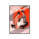 Asian Print - Sewing in the Clouds