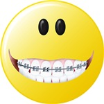 Braces Smiley Face