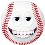 Baseball 2 Smiley Face