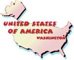 USA Map T-Shirts