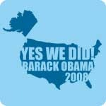 Obama Yes We Did T-Shirts