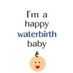 Happy waterbirth baby 1