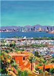 San Diego City Paintings by RD Riccoboni
