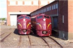 Juniata Terminal PRR E8a's 5711 & 5809