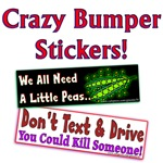 Crazy Bumper Stickers!