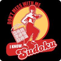 I know SUDOKU tees
