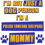 Polish Lowland Sheepdog Mommy