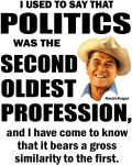 Politics - The second oldest profession