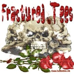Fractured Logo Skull and Rose