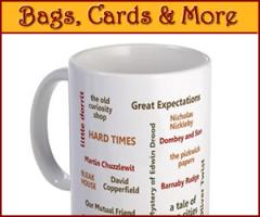 Charles Dickens Mugs, Mousepads and More