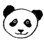 Cute Panda Face