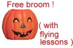 Free Broom Halloween Shirts