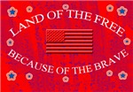 MILITARY/LAND OF THE FREE/BECAUSE OF THE BRAVE