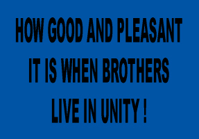 RELIGION/BROTHERS LIVE IN UNITY
