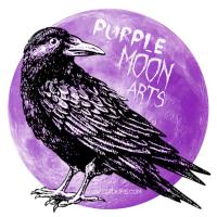 Purple Moon Arts Logo