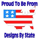 Proud to be from state logos
