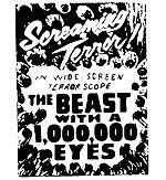 Beast with 1,000,000 Eyes B-Movie!