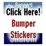 Jewish Bumper Stickers