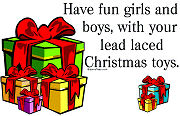 Lead Christmas Toys T-Shirts
