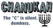 Chanukah, The C is Silent