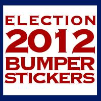 Election 2012 Stickers