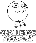 challenge accepted guy meme rage comic